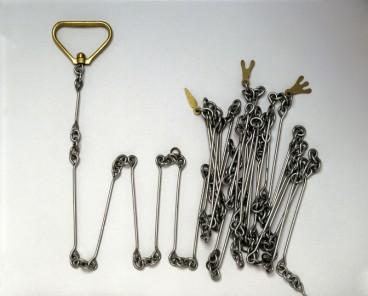 Gunter's chain, 19th century.